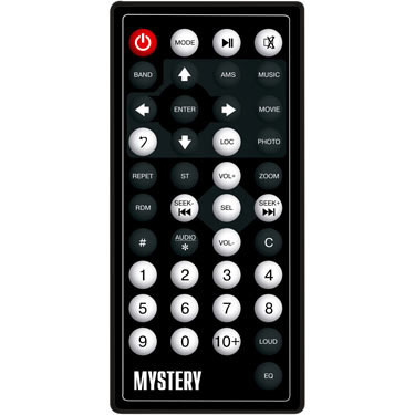 Mystery MDD-7005 пульт ДУ