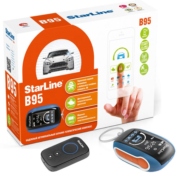StarLine B95 BT Can-Lin GSM GPS