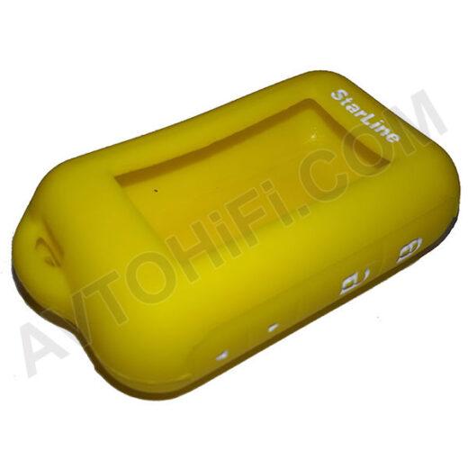 Чехол StarLine E60/E90 желтый