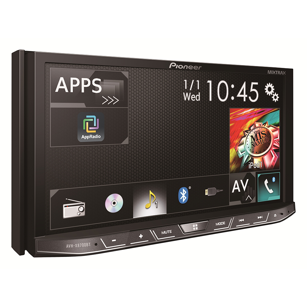 pioneer avh x8700bt 2 hi fi. Black Bedroom Furniture Sets. Home Design Ideas